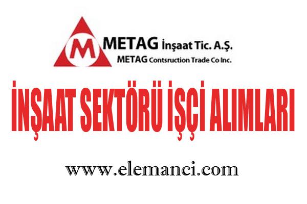 metag inşaat personel alımları